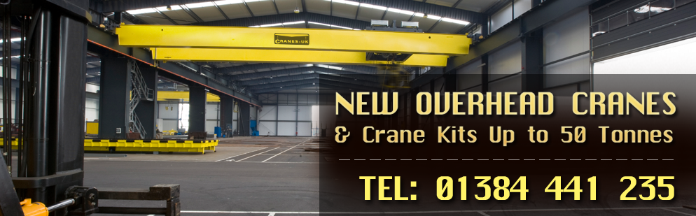 New overhead cranes & Crane Kits up to 50 Tones