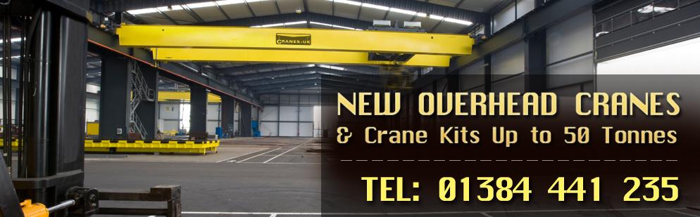 New overhead cranes & Crane Kits up to 50 Tones