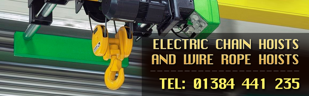 Electric Chain Hosts and Wire Rope Hoists