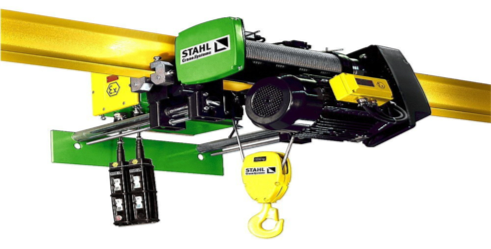 Electric Wire Rope Hoists | Used Cranes and Overhead Crane Systems UK