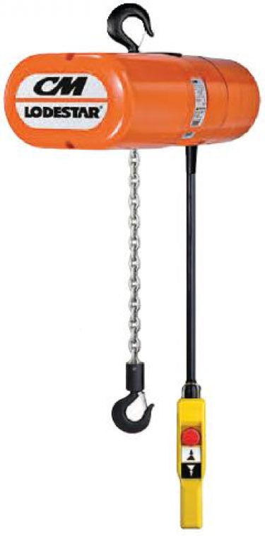 Cm Lodestar Single Phase Electric Chain Hoists 110v 230v
