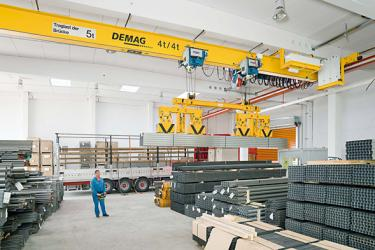 Demag Cranes, Hoists & Lifting Equipment, Used Demag Overhead
