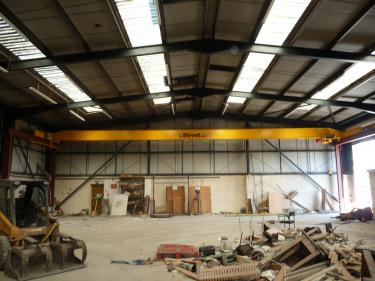 Street Single Girder 3.2 Tonne Overhead Crane
